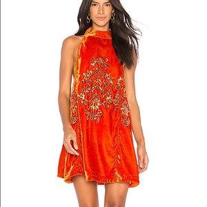 Free People Jills Sequin Swing Dress